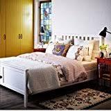 amazon com ikea hemnes full bed frame black brown wood kitchen