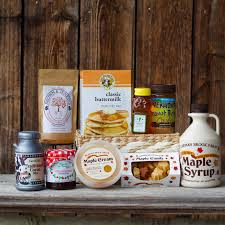 vermont gift baskets gift baskets carman brook farm vermont maple syrup