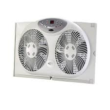 dual window fan reviews bionaire 9 in twin window fan with remote control bw2300 the home