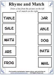 printable rhyming words free worksheets printable rhyming worksheets free math