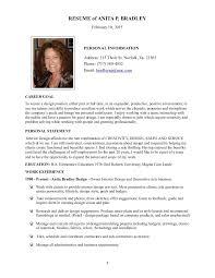 Resume Bio Examples by Short Biography Resume Corpedo Com