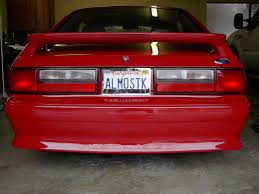 93 mustang lx tail lights replace gt taillight with lx ford mustang forum