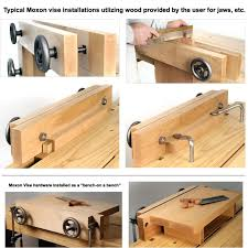 Wood Bench Vise Reviews by Benchcrafted Moxon Vise Hardware