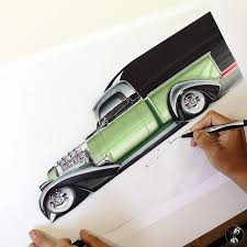 for trucktuesday working on a quick sketch u0026 render of a very