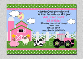 farm birthday party invitations which perfect for you thewhipper com