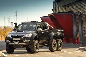 mercedes pickup truck 6x6 interior this toyota hilux 6x6 is an affordable off roading monster