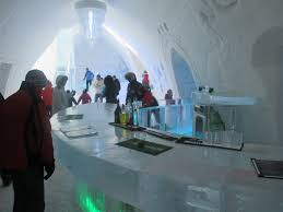 quebec u0027s hotel de glace dazzles with its fanciful frozen decor