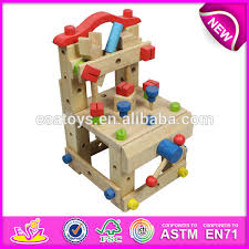 Toy Wooden Tool Bench 2015 Diy Wooden Tools Chair Toy For Kids Wooden Construction Toy