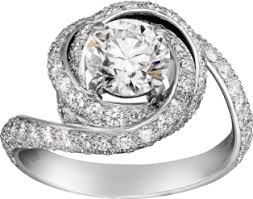 cartier engagement rings crn4250400 ruban solitaire platinum cartier