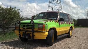 Ford Explorer Grill Guard - geek art gallery vehicle jurassic park ford explorer