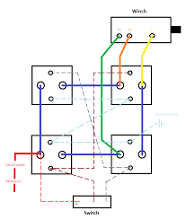 need help wiring winch if someone could look over my diagram