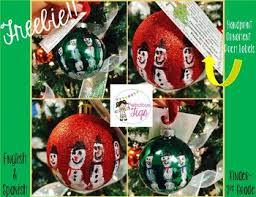 free handprint snowman ornament poem by fabulous figs tpt