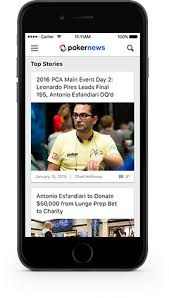 mobile app android pokernews mobile app available on android app store pokernews