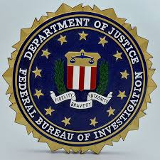 us bureau of justice department of justice federal bureau of investigation wooden wall plaque
