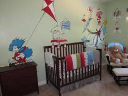 Dr Seuss Crib Bedding Sets Baby Boy S Dr Seuss Nursery With Trend Lab Crib Bedding Set And