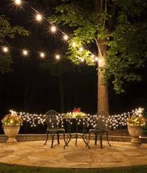 Backyard String Lighting by A Canopy Of String Lights In Our Backyard Canopy Backyard And