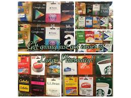 gift card mall vs giftcards lang s pharmacy has a gift card mall weston ct patch
