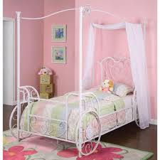 Metal Frame Canopy Bed by Bedroom Furniture Girls Poster Bed Canopy Bed Frame Queen Metal