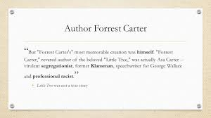 themes in the education of little tree novel wrap up the education of little tree april 28 2016 do you