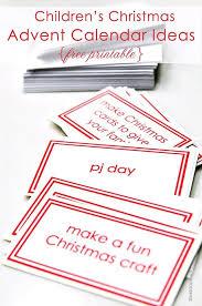 children u0027s christmas advent calendar printable free add a pinch