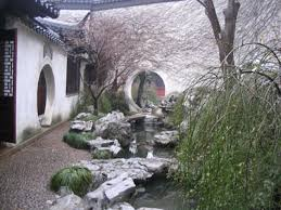 Garden Wall Decoration by Chinese Garden Design Garden Wall Decoration Ideas Chinese Garden