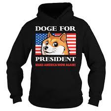 Meme Jacket - dog for president doge meme cute puppy tee hoodie gift ideas t shirt
