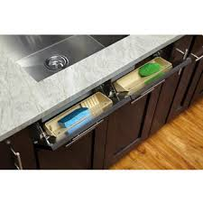 Sink Trays Tilt Out Sink Cabinet Trays And Sink Tray Organizers - Kitchen sink drawer
