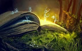 sprites fantasy magic book spirits wallpapers
