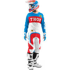 thor motocross jersey thor phase s15 motocross jersey pro gp blue red 2015 mxweiss