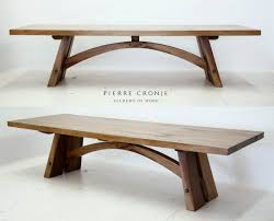 Dining Table Natural Wood A Pierre Cronje Bloukrans Dining Table In French Oak The Design