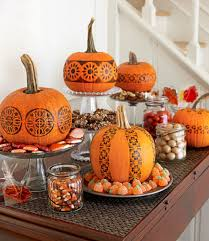 goodhousekeeping com pumpkin decorating ideas no mess pinterest inspiration