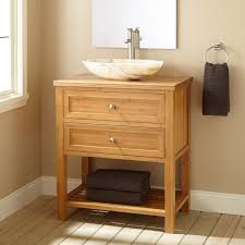Bamboo Bathroom Cabinet 30