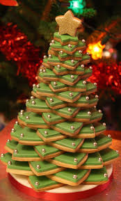 lauralovescakes 3d cookie christmas tree
