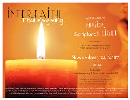 interfaith thanksgiving worship service an evening of