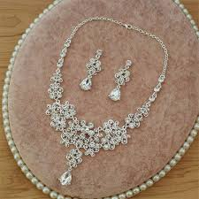 earring necklace sets wedding images Wedding bridal jewelry sets tiara crown earring necklace jpg
