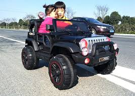 electric jeep for kids jeep 2 seater kids ride on car 12v