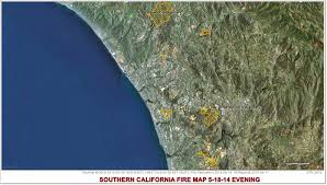Ca Wildfire Map 2014 by Cfn California Fire News Cal Fire News 5 1 14