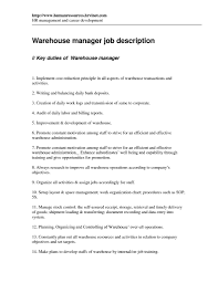 Warehouse Job Duties Resume by Warehouse Job Duties Resume Free Resume Example And Writing Download