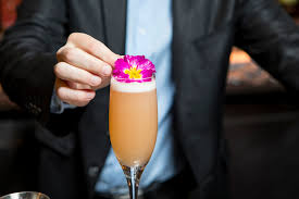 sofitel los angeles shares a fancy champagne cocktail recipe