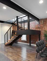 Brick Stairs Design Interior Casual Image Of Modern Interior Staircase Decoration