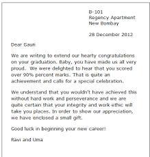 sle congratulation letter formal letters