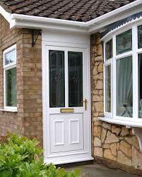 Green Upvc Front Doors by Pvcu Door U0026 White Upvc Door And Side Panel