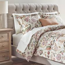 patrina soft fog cotton embroidery queen duvet cover v011869 the