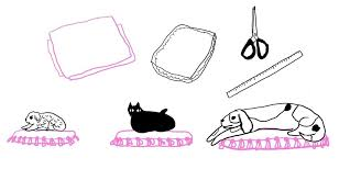 how to make an easy no sew pet bed for your cat or dog the
