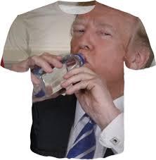 Drinking Water Meme - trump drinking water meme