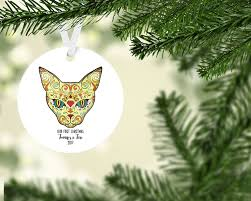 day of the dead first christmas ornament first christmas keepsake