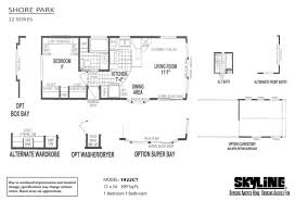 the shore floor plan shore park 1922ct by skyline homes