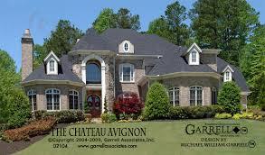 chateau home plans chateau avignon house plan house plans by garrell associates inc