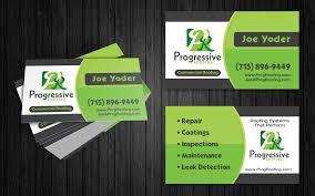 business card portfolio top roof marketing