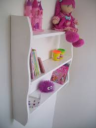 70cm high plain white childrens shelves bedroom shelves shelf